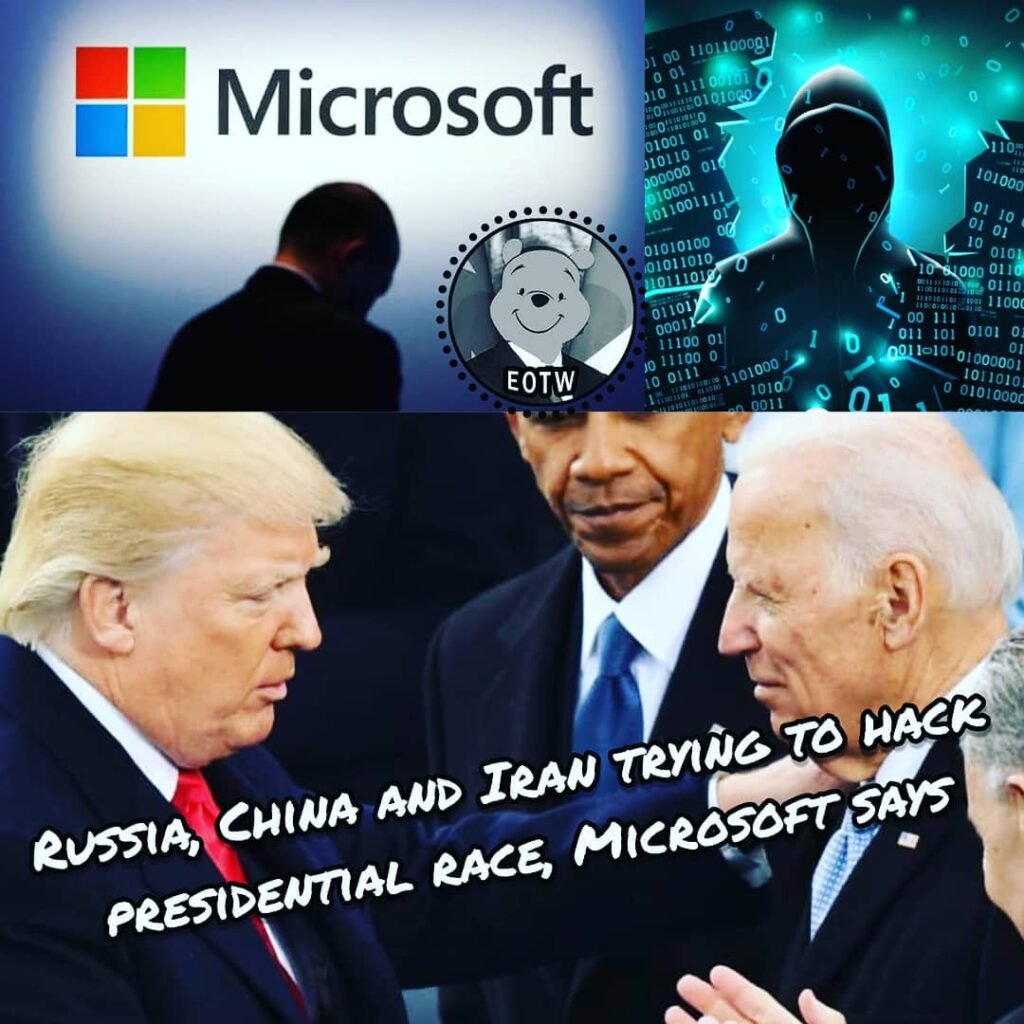 Russian, Chinese and Iranian hackers have mounted cyberattacks against hundreds ...