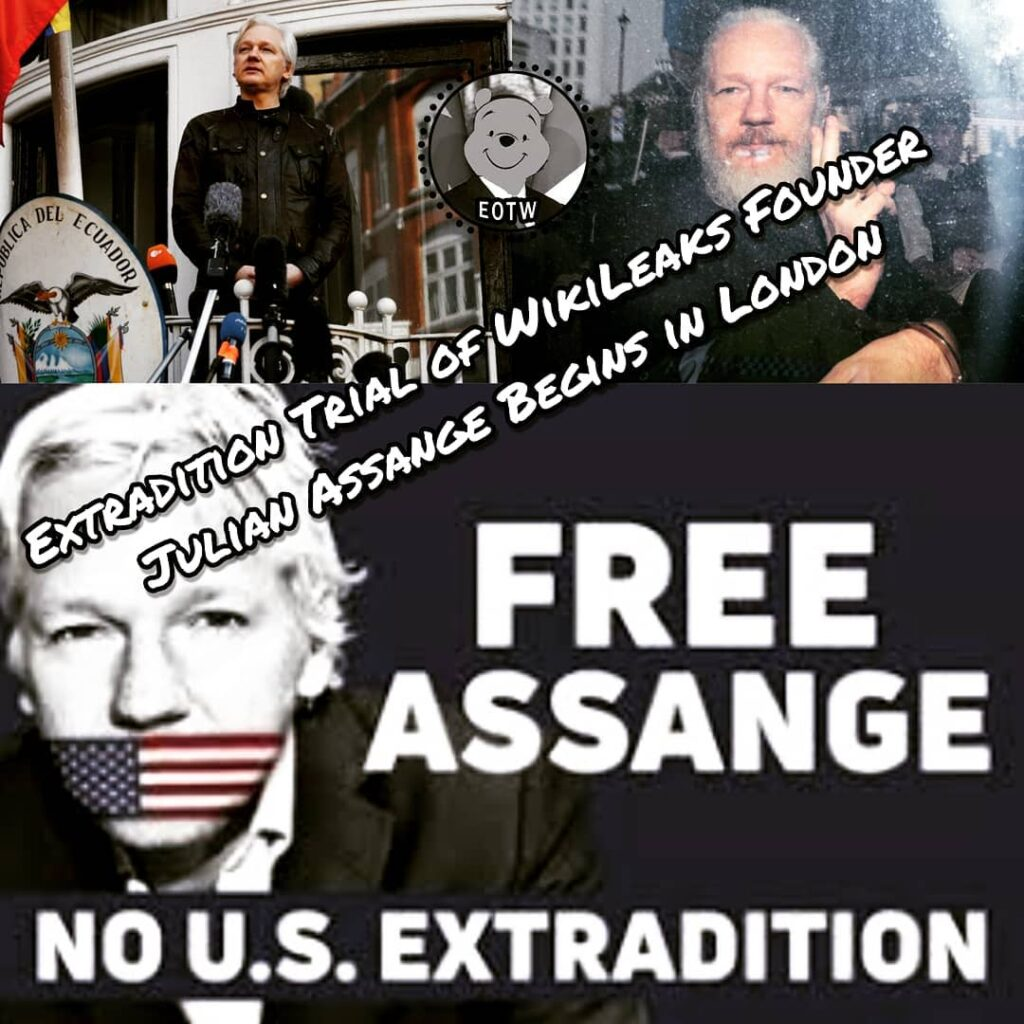 Extradition Trial of WikiLeaks Founder Julian Assange Begins in London. WikiLeak...