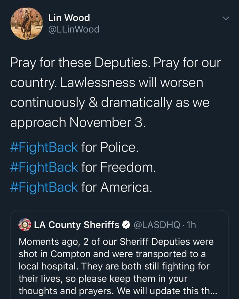 Our LEO's are at war. Prayers    ...