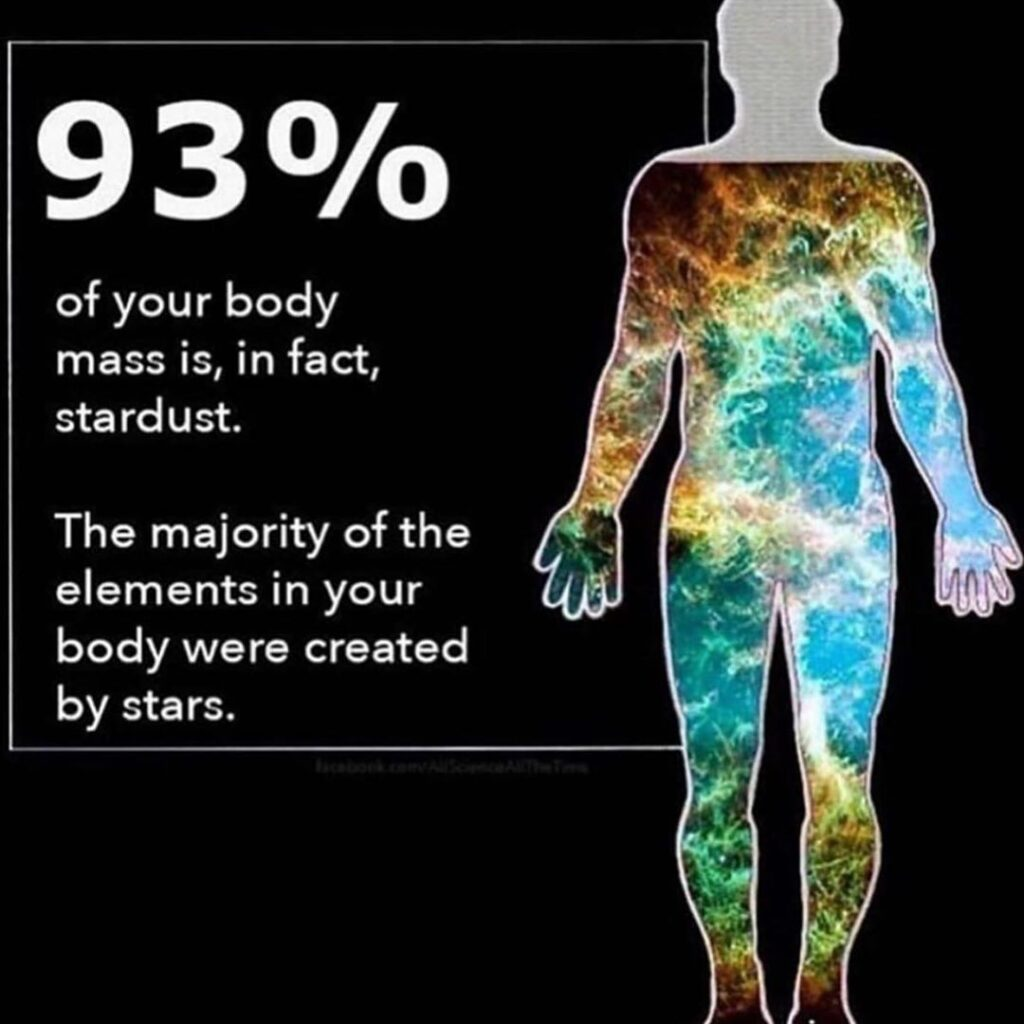 We are stardust  ...