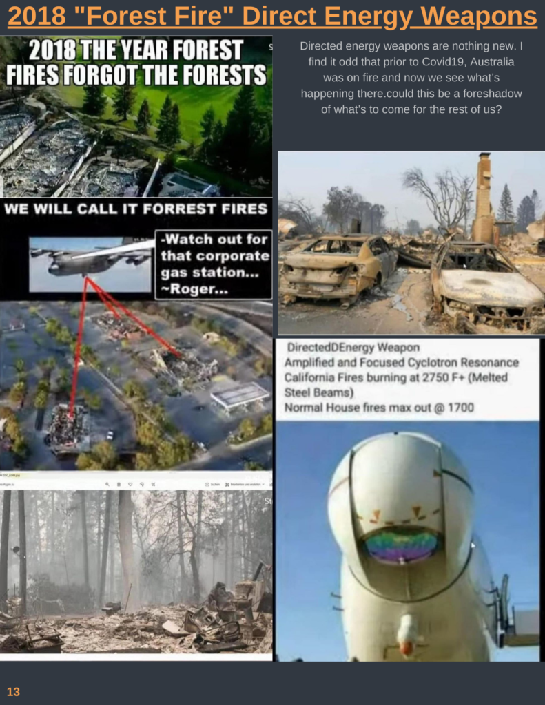 CA Fires 2020 & The Great Awakening Issue #5