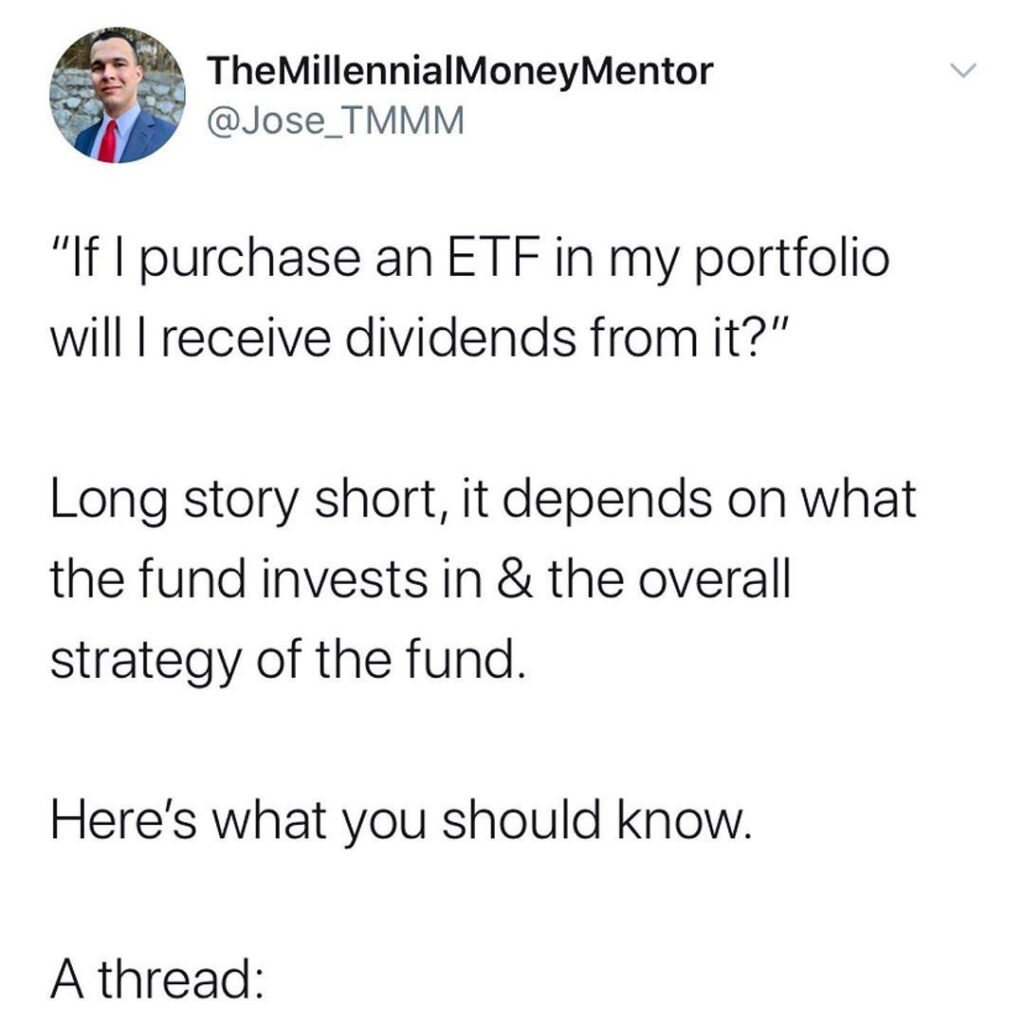 Swipe  to learn how to research ETF yields  ...