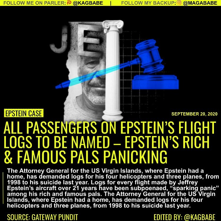 The world's rich and famous traveled to and from Jeffrey Epstein's island in the...