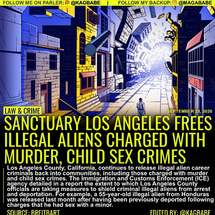 The sanctuary jurisdiction of Los Angeles County, California, continues to relea...