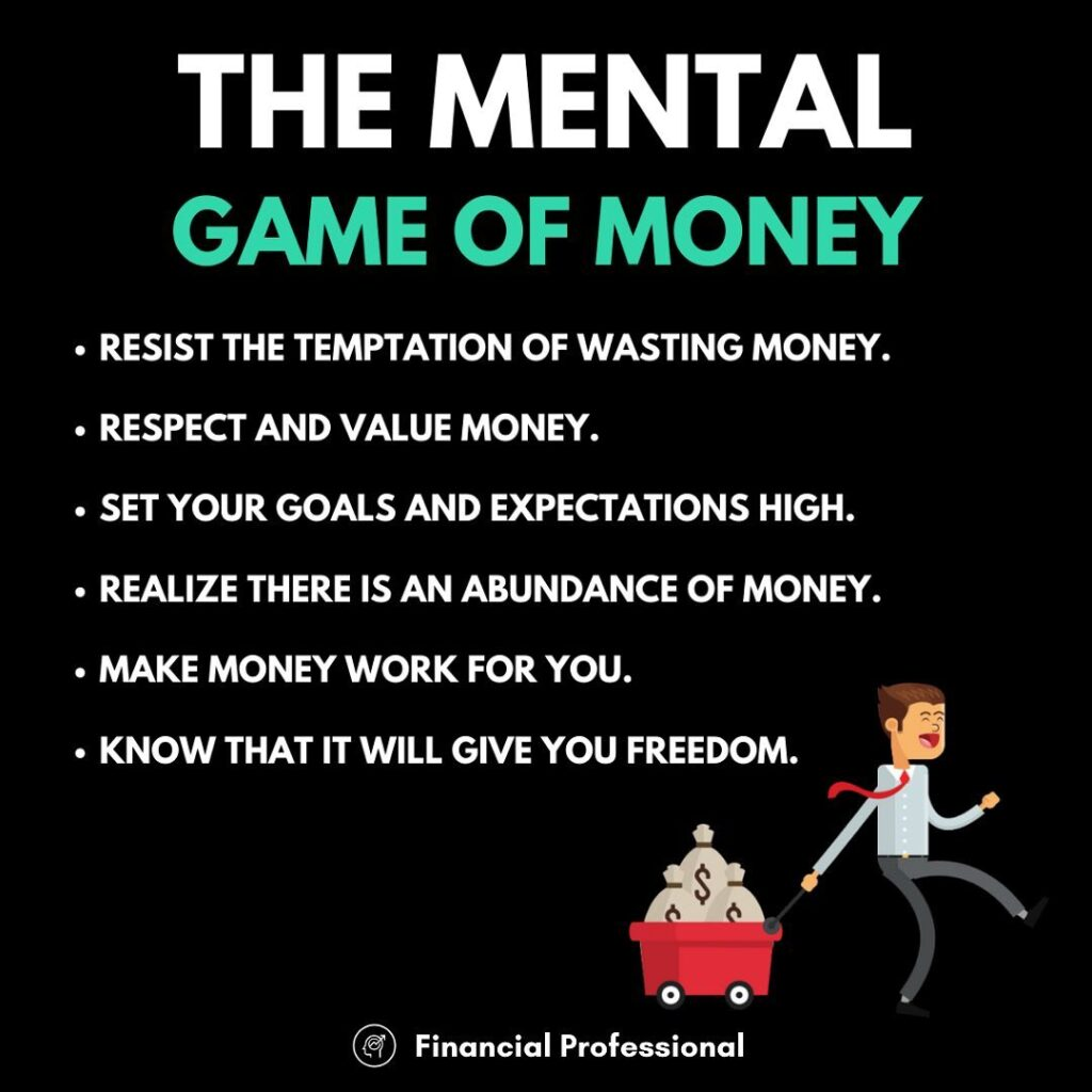 Getting your mind right about money is essential...