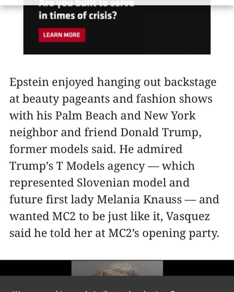Well gee, your favorite pedophile who used a modeling agency to garner underage ...