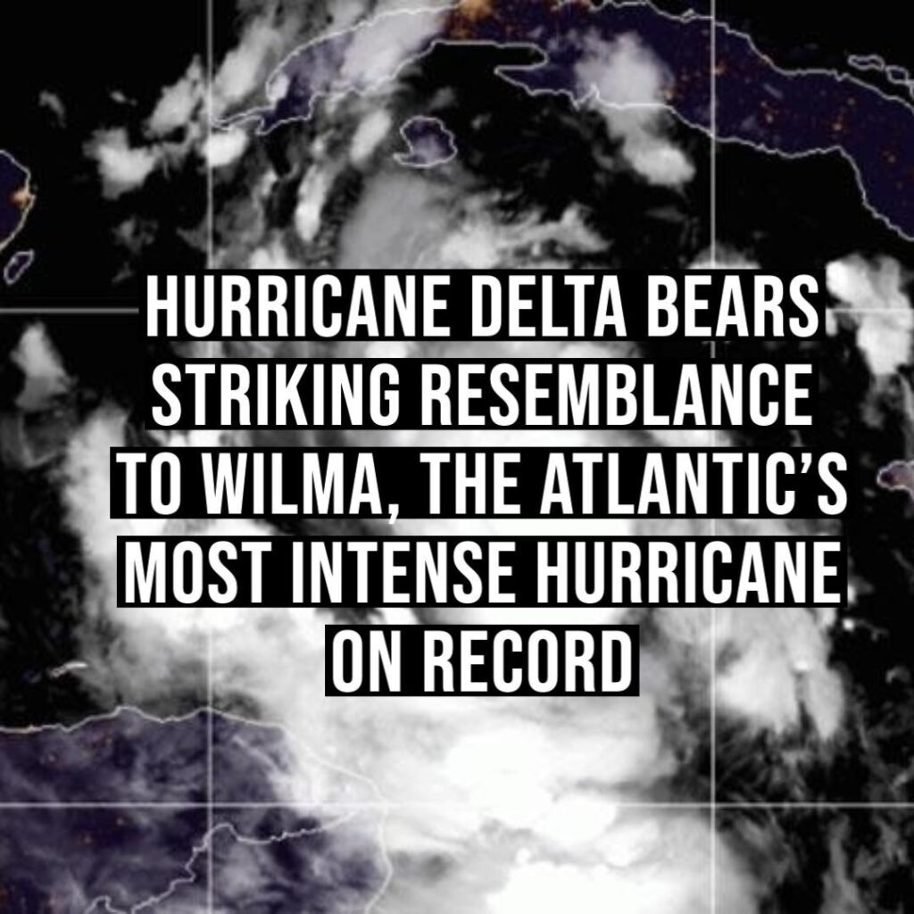 Hurricane Delta strengthened incredibly fast this week, making it the fastest ra...