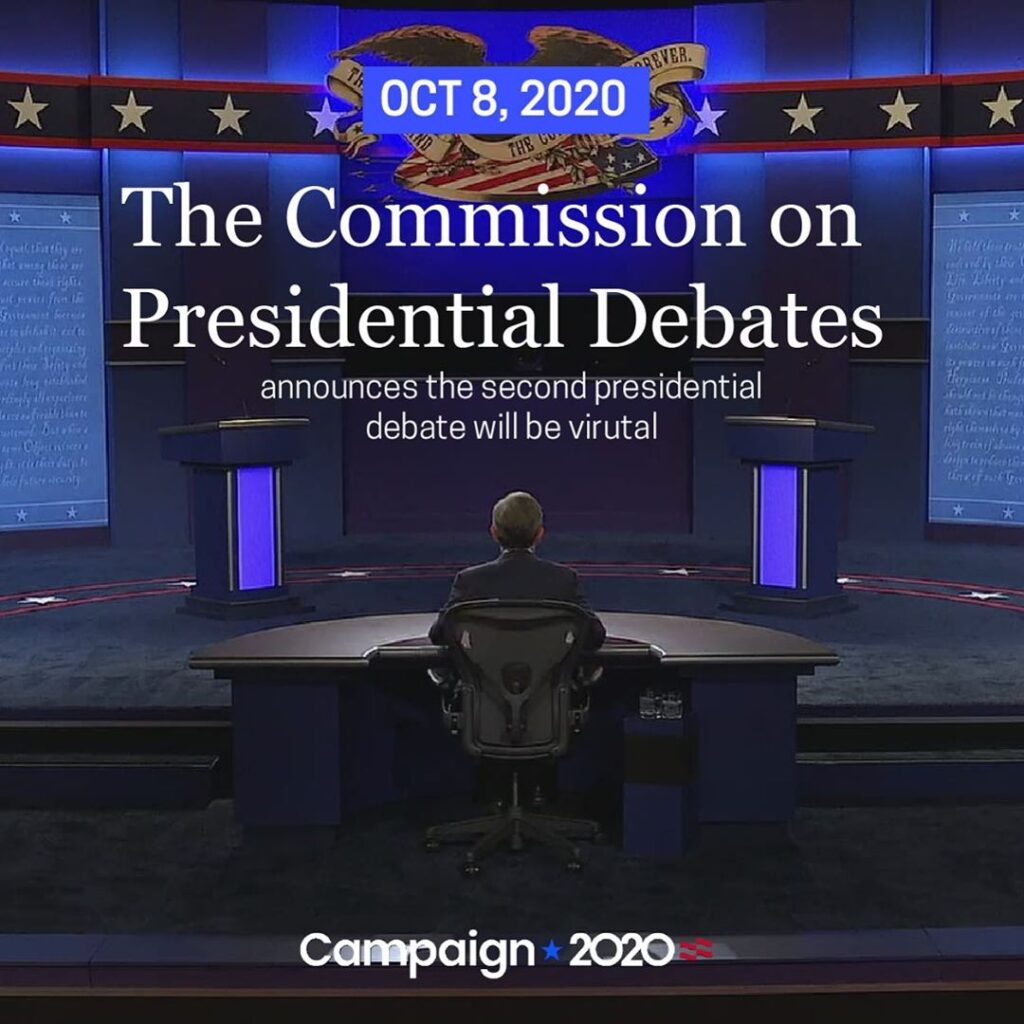 The Commission on Presidential Debates announced the second presidential debate,...