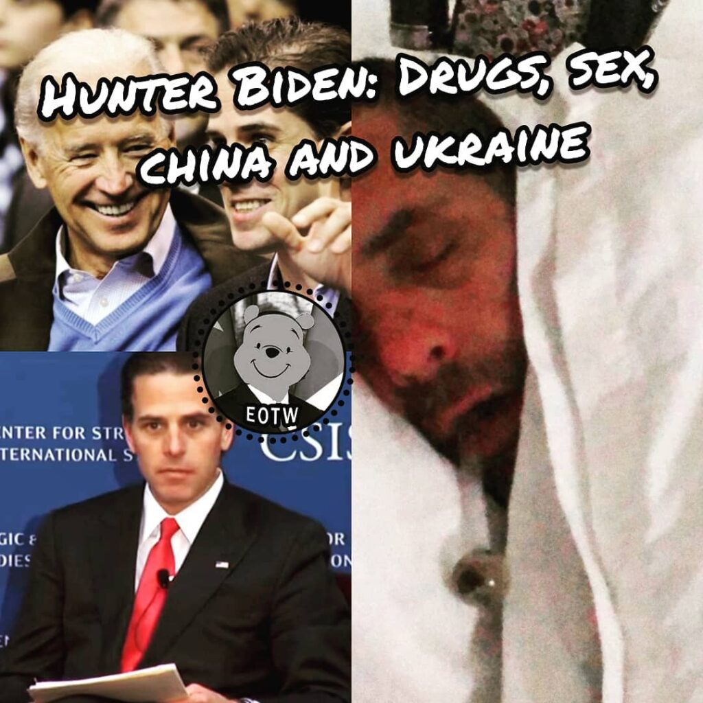 "Hunter Biden was reportedly seen ""smoking crack during a sex act"" in a video rev..."