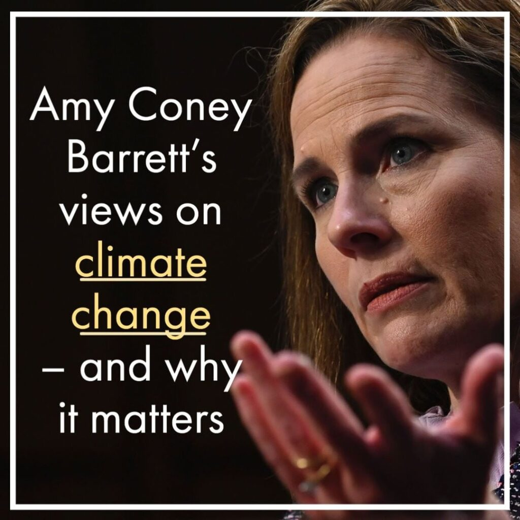 In Amy Coney Barrett's confirmation hearing this week, the Supreme Court nominee...