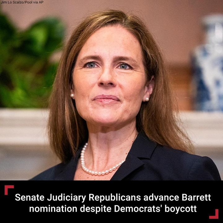 The Senate Judiciary Committee on Thursday unanimously advanced the Supreme Cour...