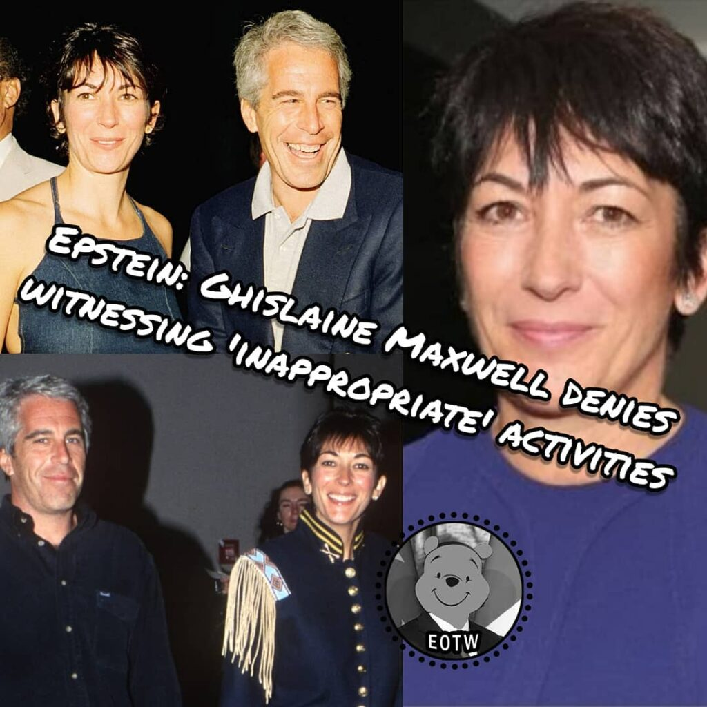 US sex offender Jeffrey Epstein's former girlfriend Ghislaine Maxwell said she n...