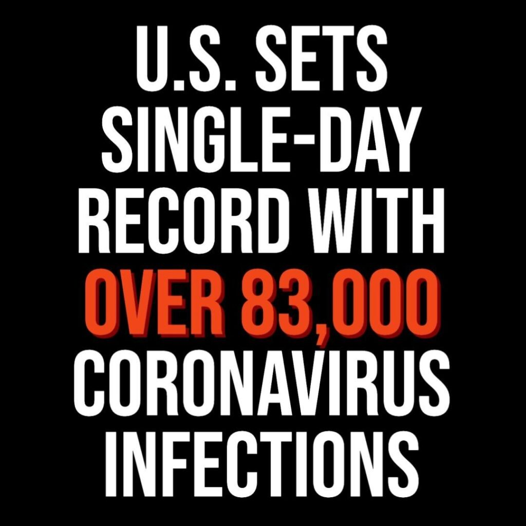 There are new signs that the nation's monthslong battle against the coronavirus ...
