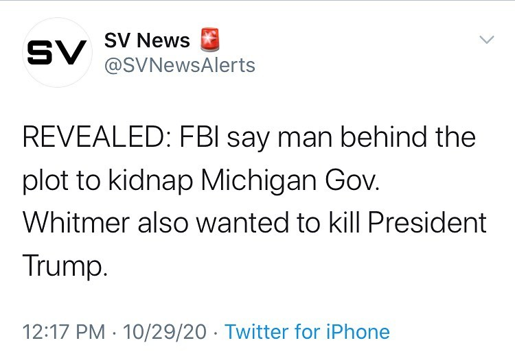 REVEALED: FBI say man behind the plot to kidnap Michigan Gov. Whitmer also wante...