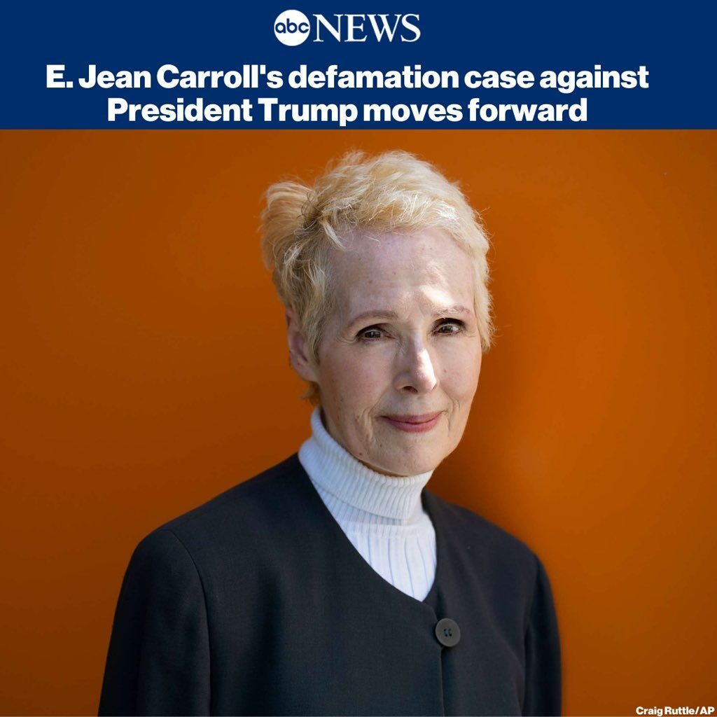 A federal Judge schedules a telephone conference in E. Jean Carroll's defamation...
