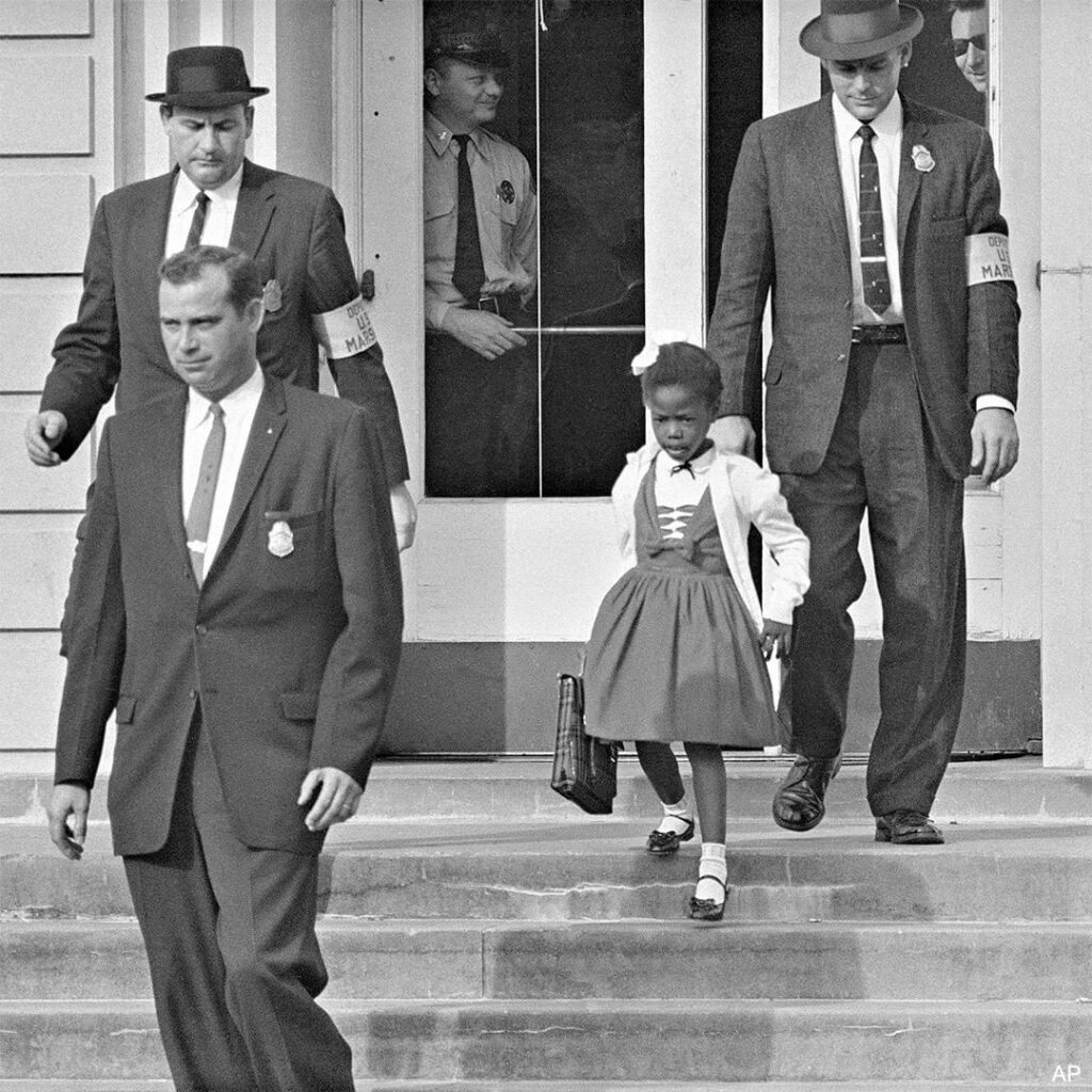 TODAY IN HISTORY: 60 years ago today, U.S. deputy marshals escorted 6-year-old R...
