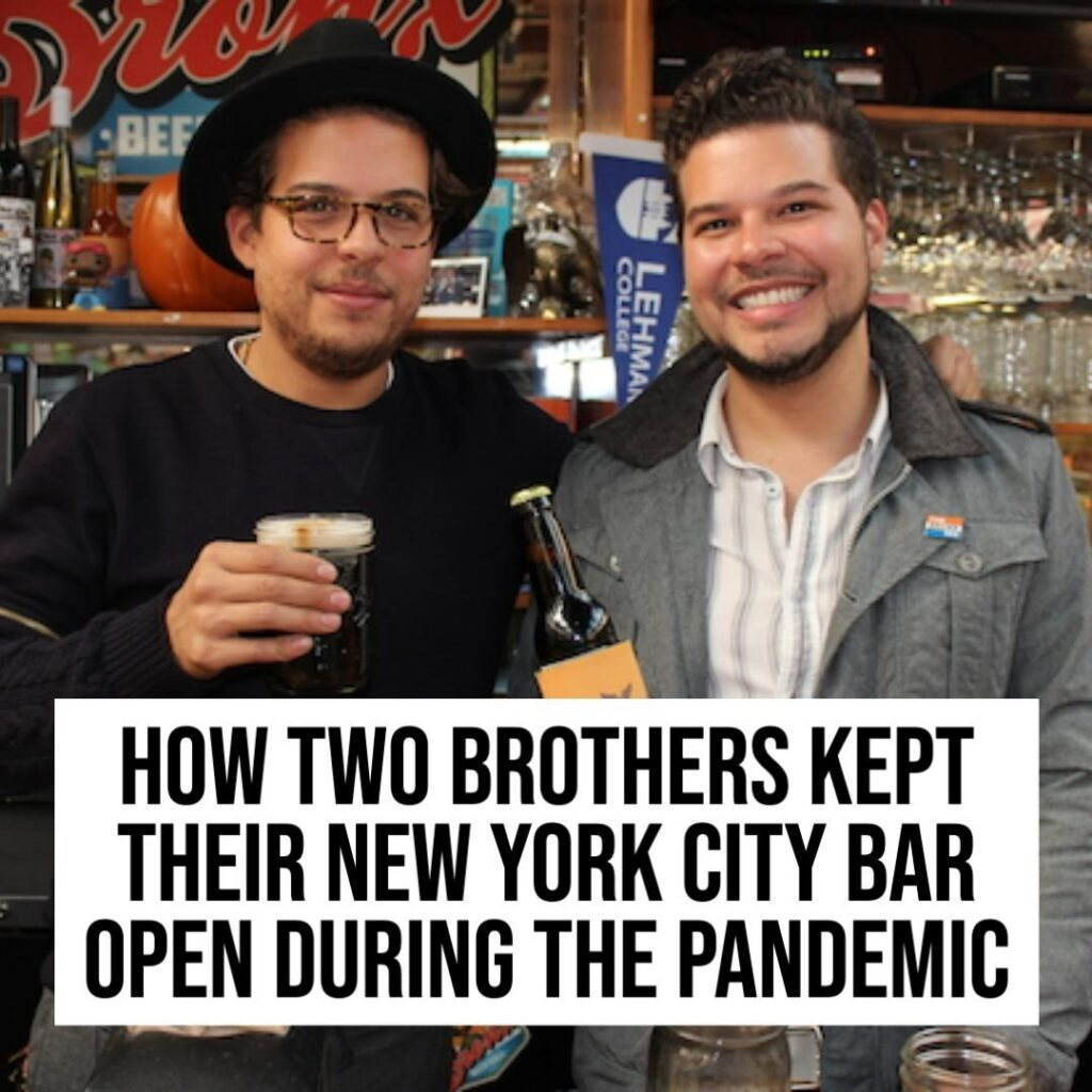 Meet Paul and Anthony Ramirez, a pair of brothers and bar owners in New York Cit...