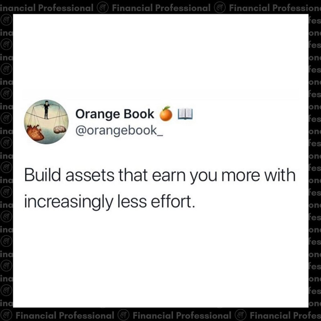 That's the goal  Do you prefer digital assets or traditional assets?...