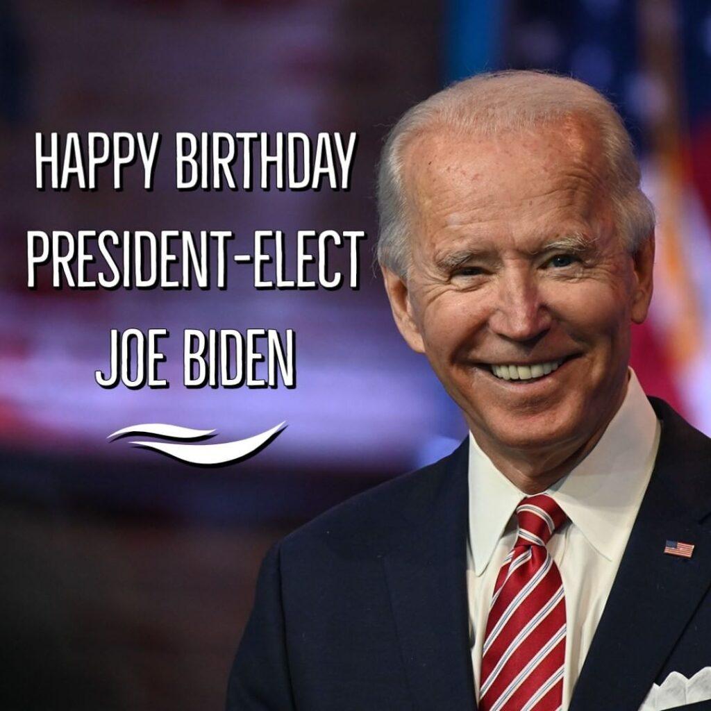 President-elect Joe Biden turns 78 today. When Biden is sworn in as the 46th Pre...