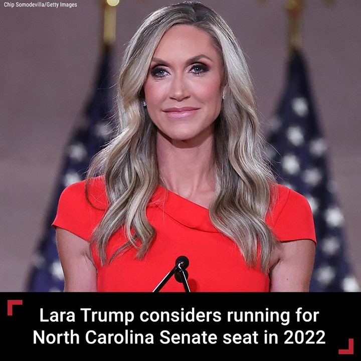 Trump campaign adviser Lara Trump is considering running for Senate in North Car...