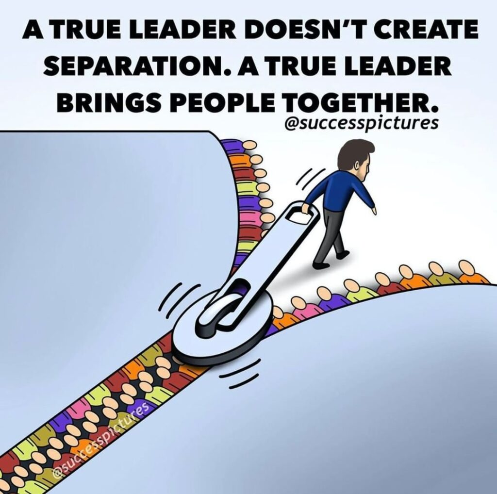 It's very easy to lead as you would like to be led but that doesn't mean your fo...