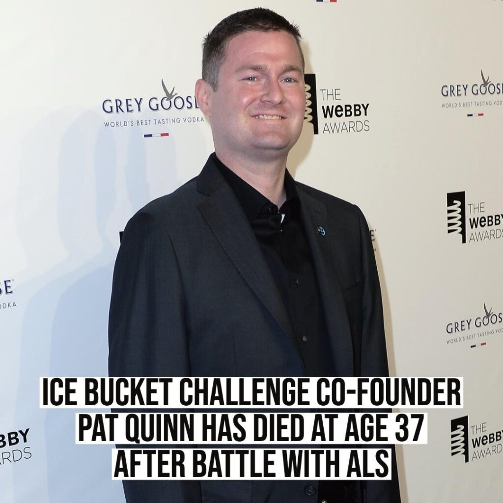 Pat Quinn, co-founder of the viral ice bucket video challenge, has died at the a...