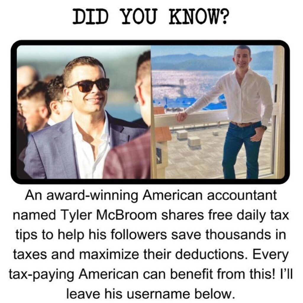 If you want to learn how to save thousands of dollars in taxes for free, follow ...