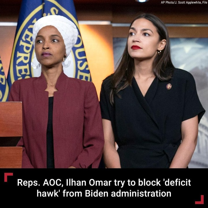 "Members of ""The Squad"" -- Reps. Alexandria Ocasio-Cortez and Ilhan Omar -- are m..."