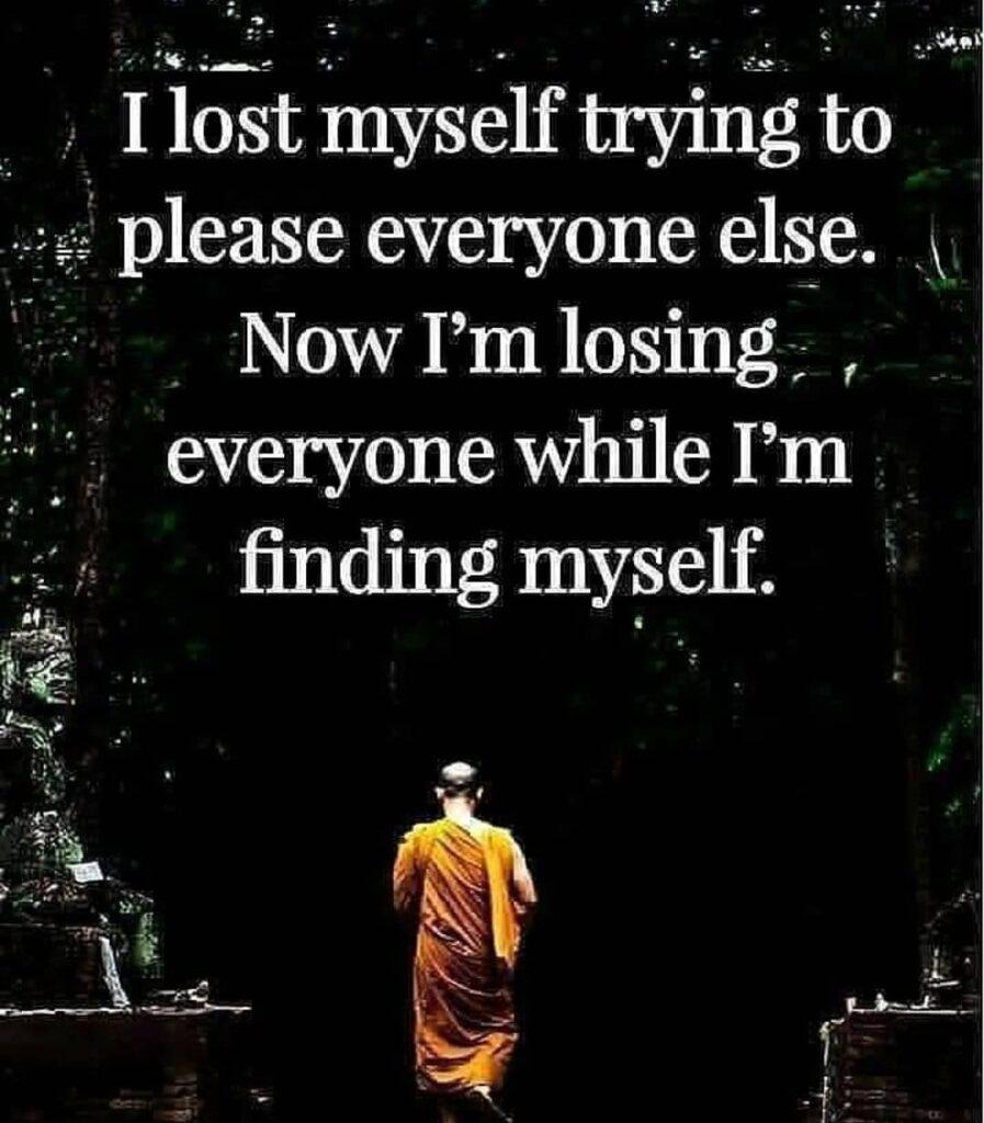 Self realization ...