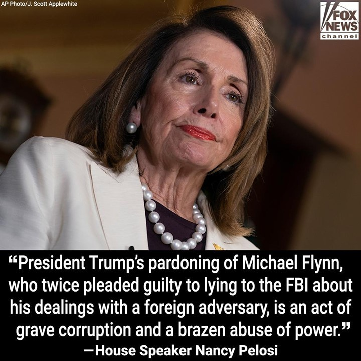 House Speaker Nancy Pelosi slammed President Trump in a statement Wednesday afte...