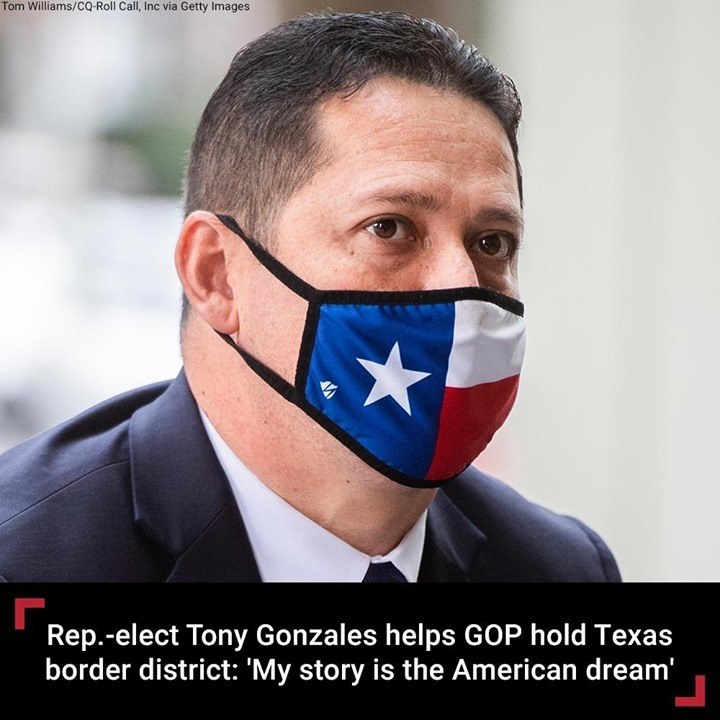 Tony Gonzales, the newly elected Republican congressman from Texas, brings to Wa...