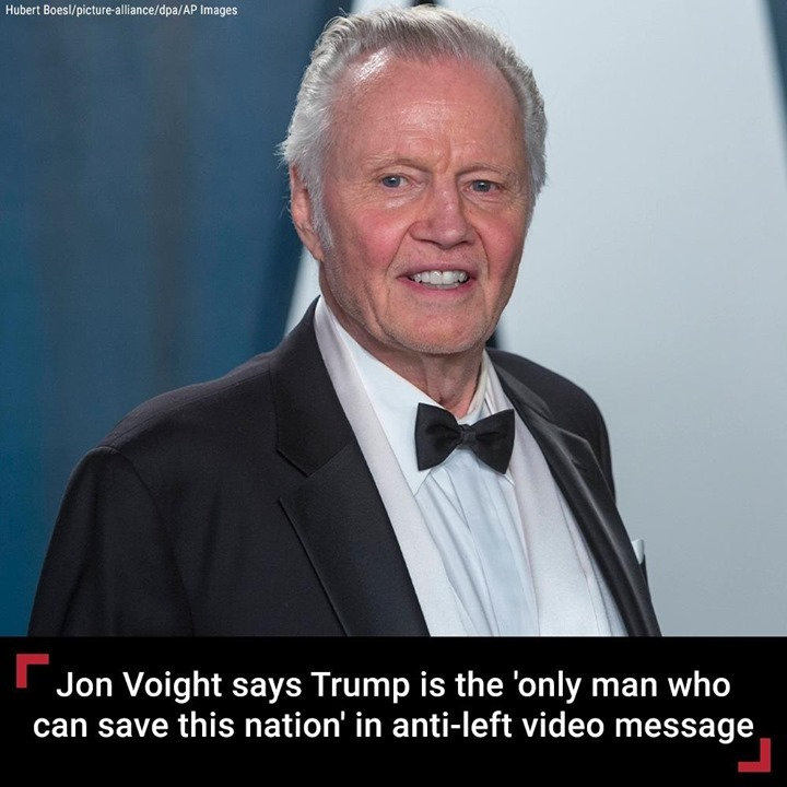 Jon Voight has released a video message that offers a dire warning of what's to ...