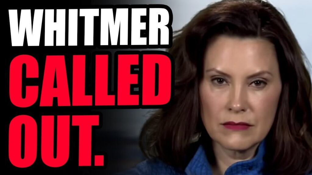 Gretchen Whitmer CALLED OUT For Hilarious Ability To FAIL UPWARDS...Dems Are A JOKE.