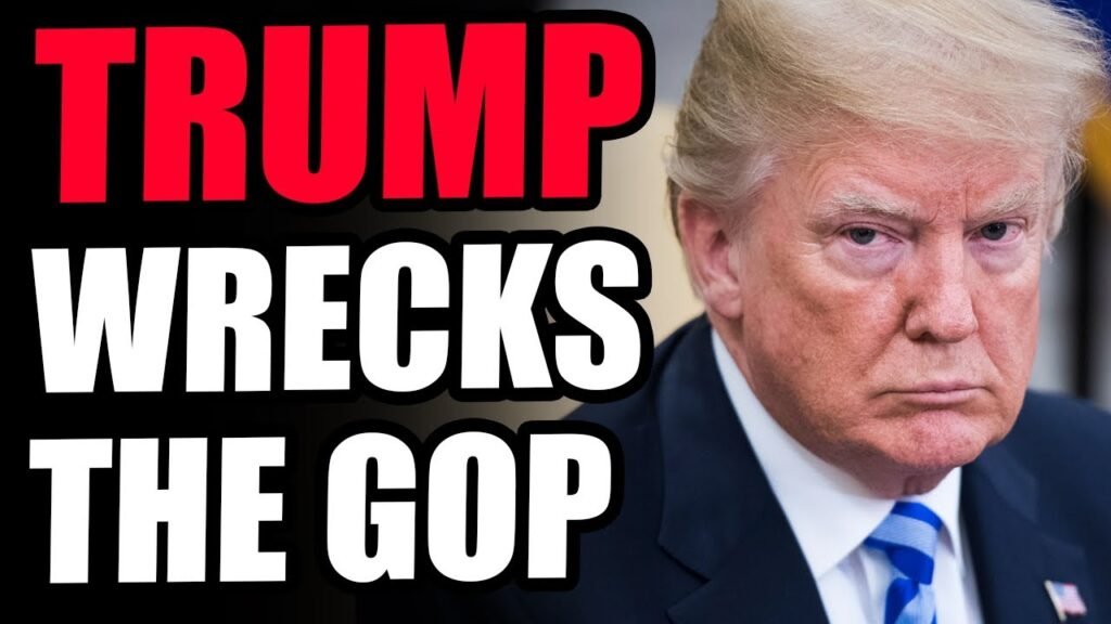 Trump WRECKS The GOP In Overwhelming Fashion! There Is Only THE TRUMP PARTY, GOP Is Dead.