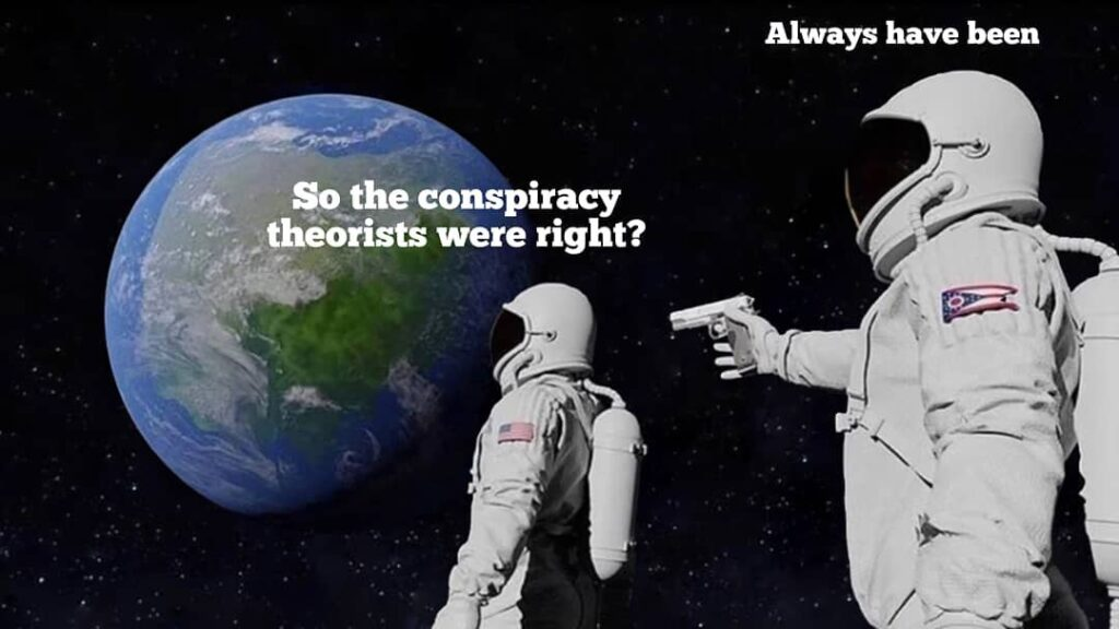 """The reason some of the biggest """"conspiracy theories"""" have gone on and on is beca..."""