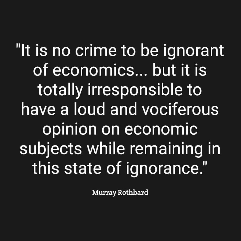 Uneducated people typically just repeat popular opinions that they hear others s...