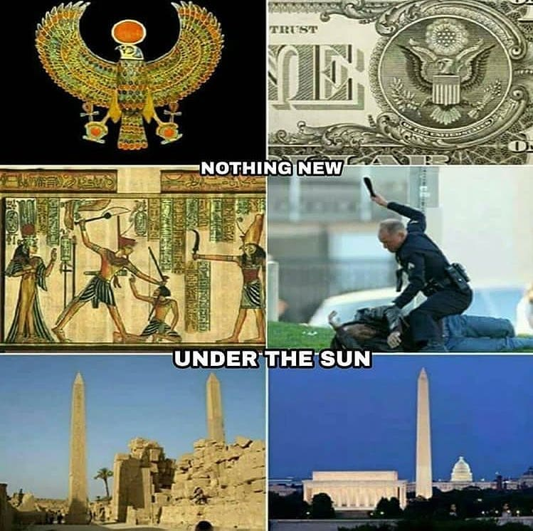 Nothing new under the sun, when it comes to control freaks whose power has intox...