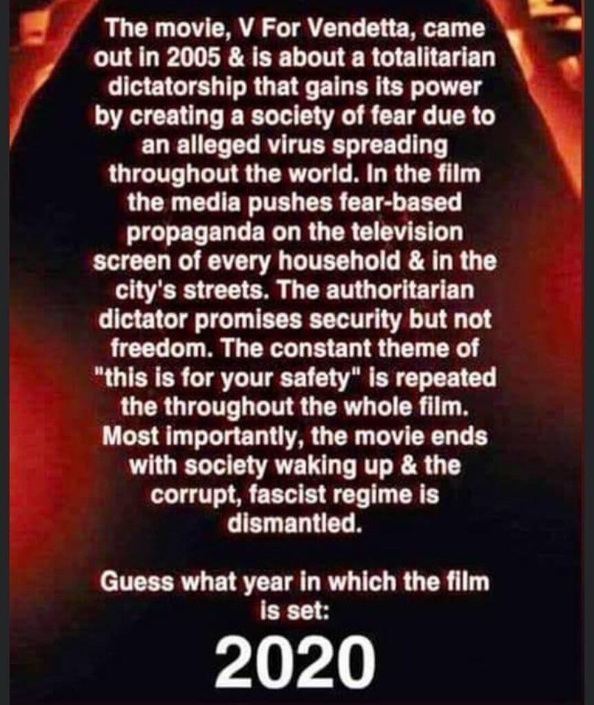 Last scene - society wakes up...