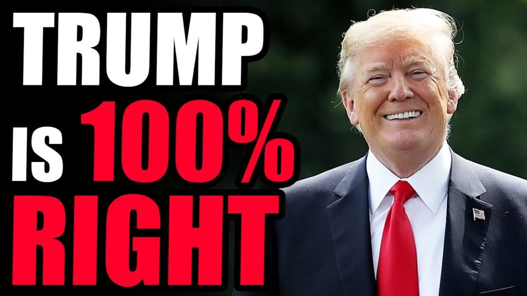 Trump Is 100% RIGHT! Continues To Fight THE SWAMP & Stand Up For Americans. He Is THE GOAT.