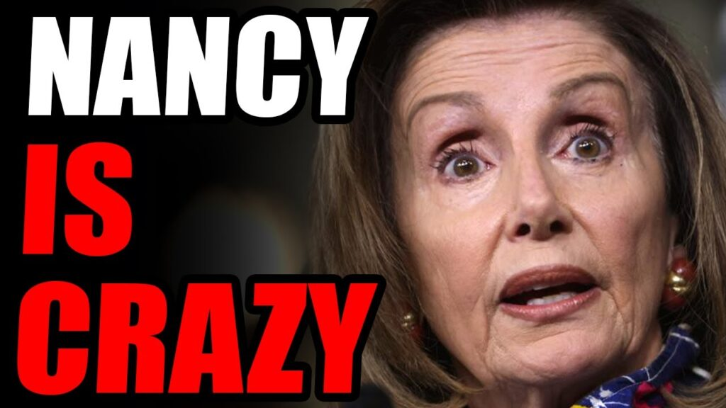 Nancy Suffers UNHINGED MELTDOWN When Asked A Very Simple Question... She's LOST IT, Folks..