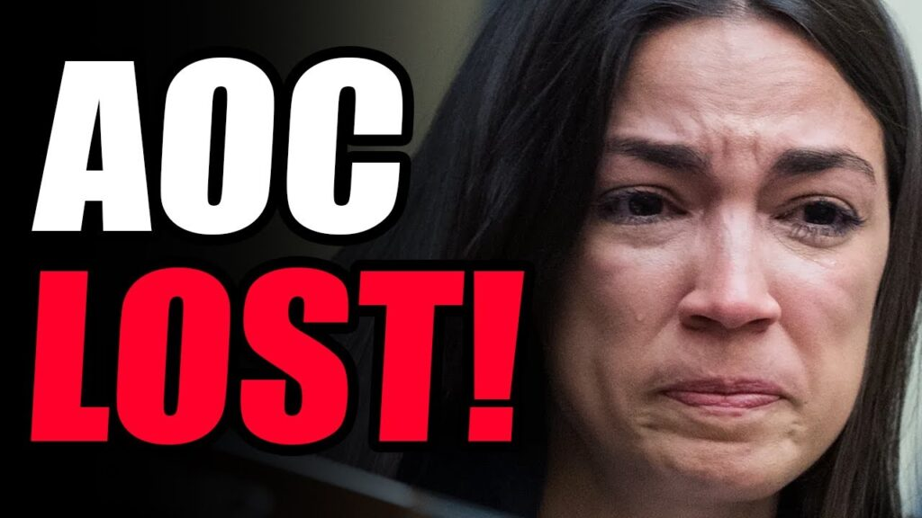 AOC LOSES By 70% In Bid For Committee Position! TOTAL REJECTION From Democrat Party! She IS VERY MAD