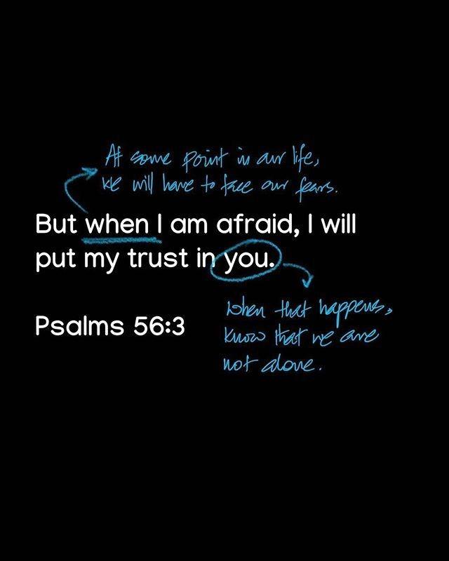 Follow I've heard it said that fear is the opposite of faith. I don't really ag...